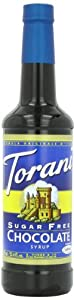 Torani Sugar Free Syrup, Chocolate, 25.4 Ounce (Pack of 4)