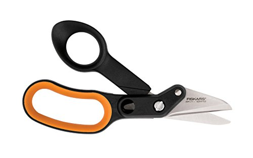 Lowest Price! Fiskars 710200-1001 Amplify Serrated Hardware Shears, 6-Inch