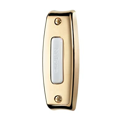 NuTone Wired One-Lighted Door Chime Push Button