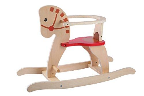 AK Sport – Silla caballo balancín de madera