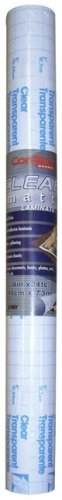 Con-Tact Brand Self-Adhesive Acid Free Shelf Liner, Clear Matte, 18-Inch by 24-Feet
