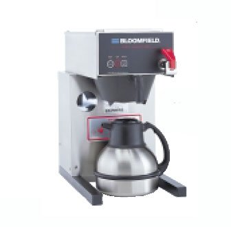 "Bloomfield 1082Afl E.B.C Electronic Thermal Brewer, Pour-Over Option, Faucet, 17"" Depth, 10"" Width, 17 3/4"" Height front-637355"