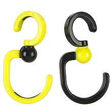 Babies R Us Stroller Hooks - Lime and Black