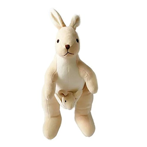 Soft Kangaroo Stuffed Animal Organic Cotton Kids Plush Toys,75% Organic included,25% Polyester (Made For Me Mp3 Player compare prices)