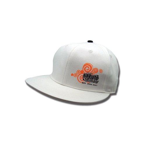 Naruto Shippuden: Whirlpool Logo Flat Bill Cap front-562014