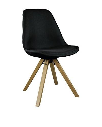 Superstudio stoel set van 2 Cross Up zwart