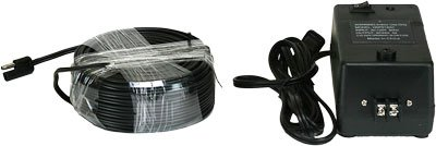 Perfect Vision/HotShot HSPS18KIT 24V. Power Supply & 100′ Cable for 18″ Satellite Dish Heating Elements