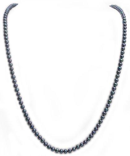 Kimura Pearls Damen Kette 9 Karat (375) Weißgold FBS6034