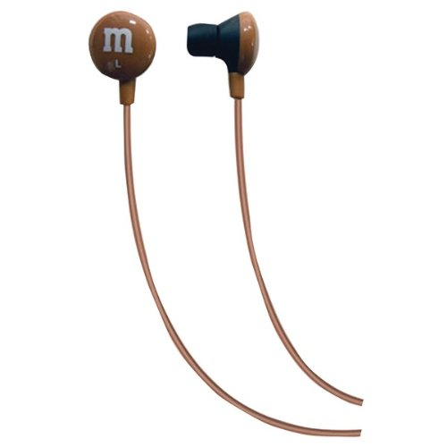 Maxell 190804 M&M'S(R) Earbuds (Brown) (190804)