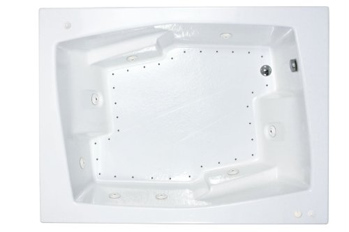 Atlantis-Whirlpools-5472cdl-Caresse-Rectangular-Air-Whirlpool-Bathtub-54-X-72-Left-Drain-White