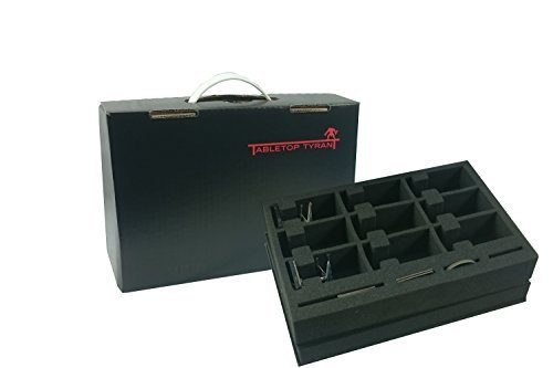 Companion Skirmish Figure Case with X-Wing Fighter & Accessories Foam by Tabletop Tyrant (X Wing Tabletop compare prices)