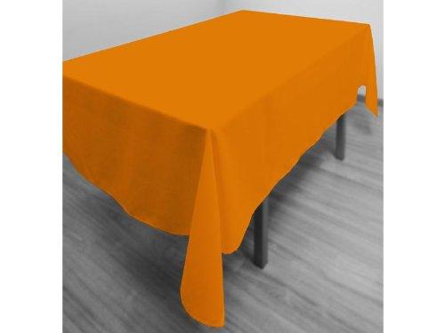 Tovaglia antimacchia rettangolare 140 x 300 cm ALIX arancione