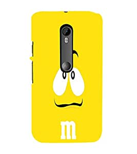 EPICCASE Yellow eyes cartoon Mobile Back Case Cover For Moto X Style (Designer Case)