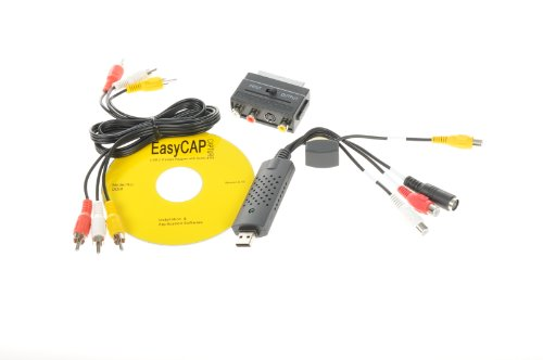 Weltbild VHS Video-Digitalisierer USB Videobearbeitung Videos überspielen mit Software USB