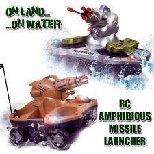 ferngesteuerter panzer amphibisches geschoss mit batterien. Black Bedroom Furniture Sets. Home Design Ideas