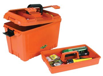 Flambeau Tackle Large Marine Storage Box (Orange, 18x10.5x12-Inch)