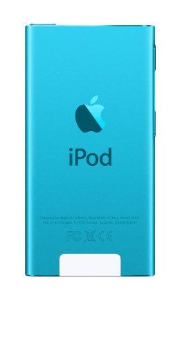 最新モデル 第7世代 Apple iPod nano 16GB ブルー MD477J/A