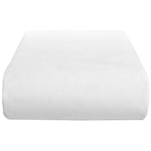 1-Piece Fitted Sheet With 9'' Deep Pocket King Size White Solid Egyptian Cotton---400 Thread Counts front-1069043