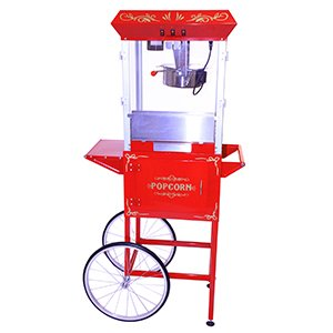 8oz Commercial Popcorn Maker with Cart