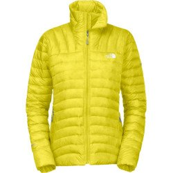 The North Face Women's Thunder Micro Jacket Sulphur Spring Green Large (Thunder Micro Jacket compare prices)