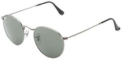 Ray Ban RB3447 Round Metal Sunglasses, 50mm