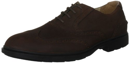 Sebago Men's Breton Lace-Up Shoe Medium Brown B22807 7.5 UK