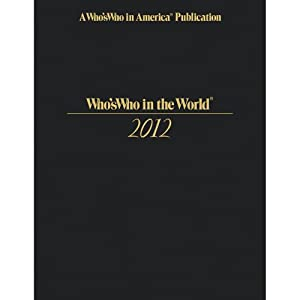 Who's Who in the World 2012