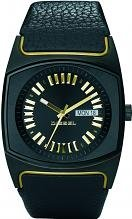 Diesel Black Leather Ladies Watch - DZ5214