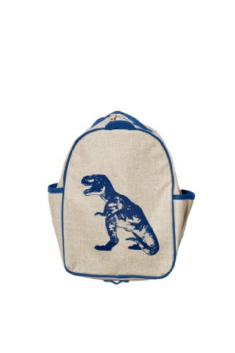 SoYoung Toddler Backpack - Blue Dino - 1