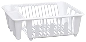 United Solutions Small Plastic Dish Rack, White at Sears.com