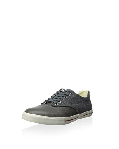 SeaVees Men's Hermosa Plimsoll Varsity Casual Sneaker