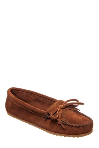 Minnetonka 402 Kitty Suede Flat