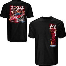 Tony Stewart Black Injection T-shirt by Chase Authentics