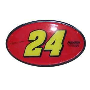 Buy Jeff Gordon #24 Mylar Trailer Hitch Cover by NASCAR