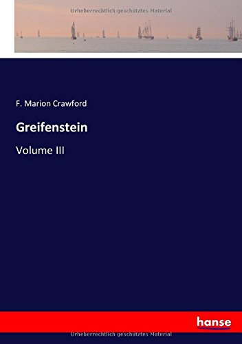 Greifenstein: Volume III