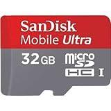 サンディスク microSDHCカード 32GB Class 6Mobile Ultra モバイル ウルトラ SDSDQY-032G-J35A