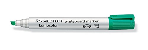 STAEDTLER Lot de 10 Lumocolor Whiteboard marker 351B, vert