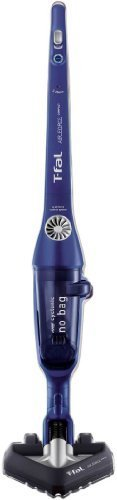T-Fal Cyclone Vacuum Cordless Stick Cleaner Air Force Compact Battery-Powered Indigo Blue By N/A front-16759