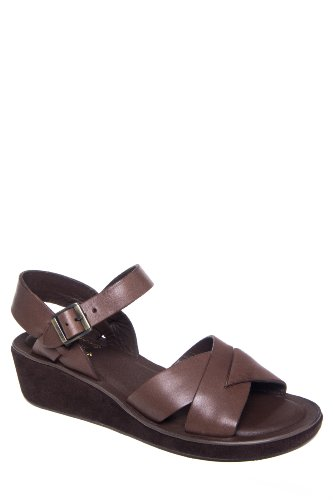 Kork-Ease Myrna Low Wedge Ankle Strap Sandal