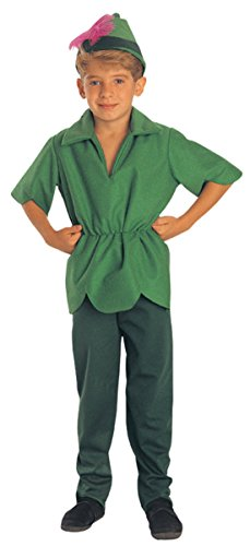 Boys Peter Pan Kids Child Fancy Dress Party Halloween Costume