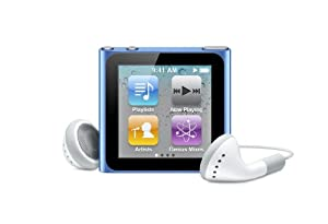 Apple iPod nano 8 GB Blue (6th Generation) (Discontinued by Manufacturer)