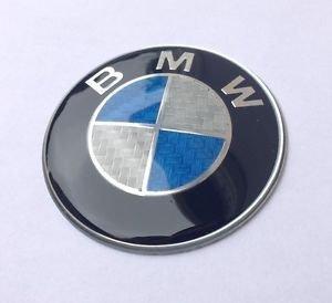 1-x-logo-insigne-bmw-embleme-82mm-coffre-capot-e30-e36-e46-e39-x3-x5-carbone-bleu-neuf-envoi-en-suiv