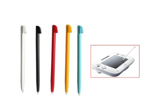 5 Pcs Stylish Stylus Touch Pen for Nintendo Wii 