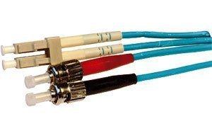 Cables UK LC-ST Duplex 50/125 OM3 Multimode Fibre Aqua Blue 5m кабель для сервера dell 3m lc lc optical fibre cable multimode 470 10694 470 10694