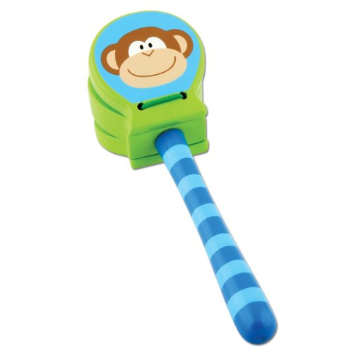 Stephen Joseph Monkey Wooden Clackers - 1