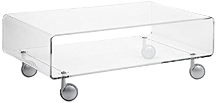 Emporium Andy 2 Table basse transparente