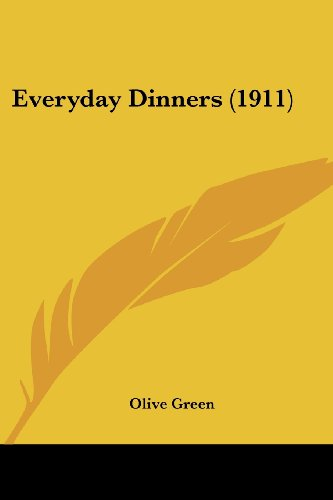 Everyday Dinners (1911)