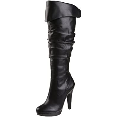 Jessica Simpson Women's Anne Boot,Black,5.5 M US