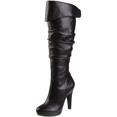 Jessica Simpson Women's Anne Boot,Black,8.5 M US