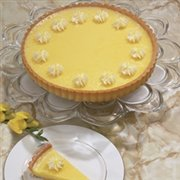 Lemon Flower Tart
